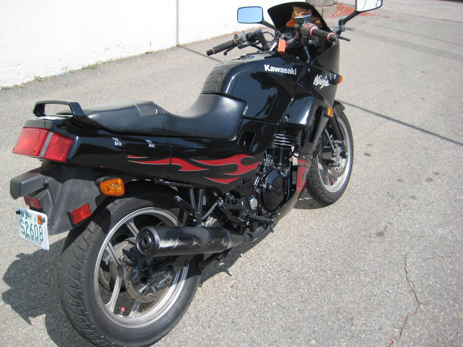 2007 Kawasaki Ninja 250r