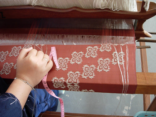 Songket weaving