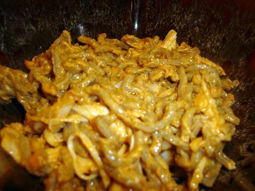Noodles with Peanut Sauce