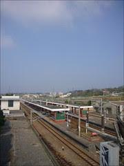藍天與鐵路