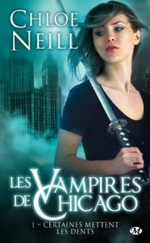 Couverture Les Vampires de Chicago, tome 01 : Certaines mettent les dents
