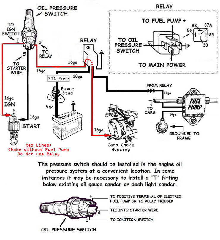 1970 Chevy Alternator Wiring Diagram