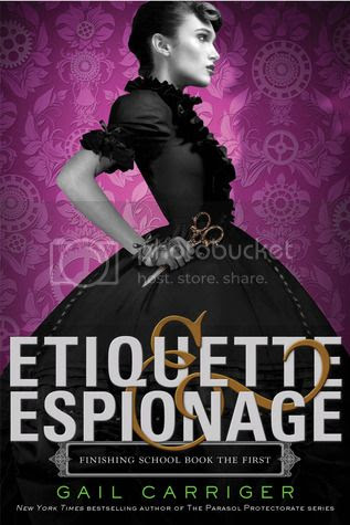 Etiquette and Espionage Cover