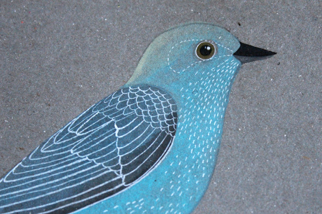 Aquabird detail