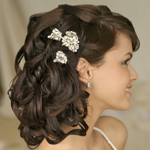 Coiffure Mariage Boucle Cheveux Court Maquillage Mariage