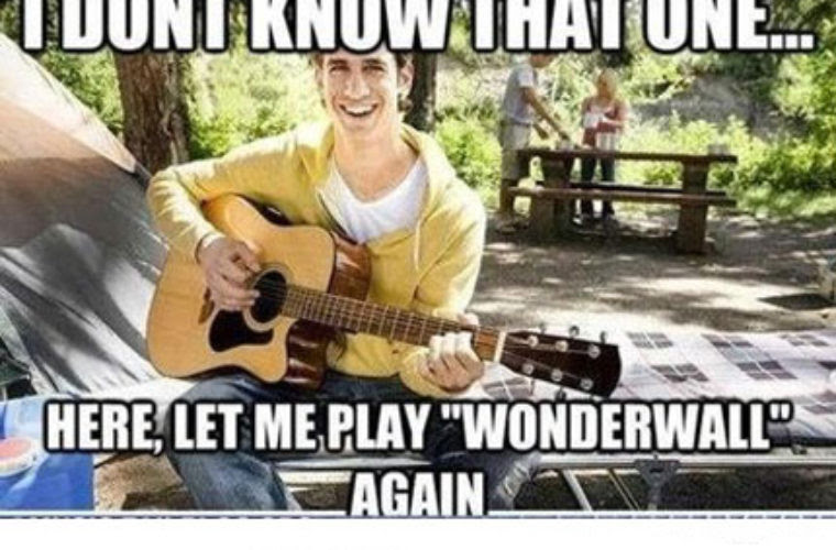Guy Playing Guitar Lame Funny Pictures Quotes Memes Funny