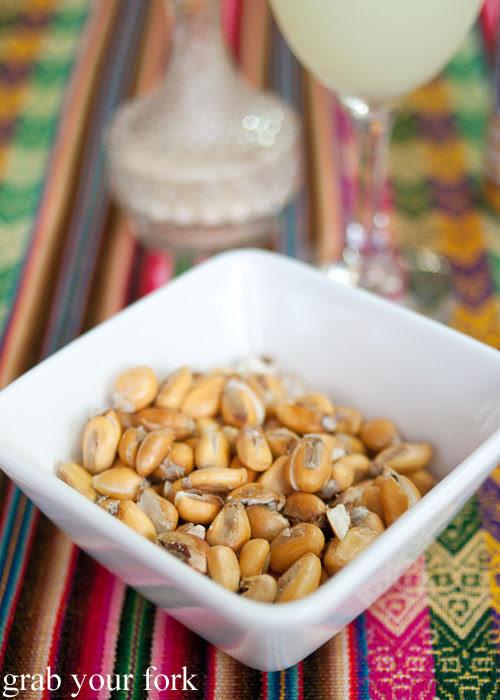 Cancha salada toasted Peruvian corn
