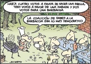 #mayorías y coaliciones