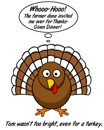 turkey farmer invited