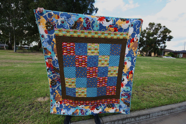 A quilt for Sean