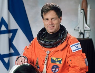 Ilan Ramon, the first Israeli astronaut