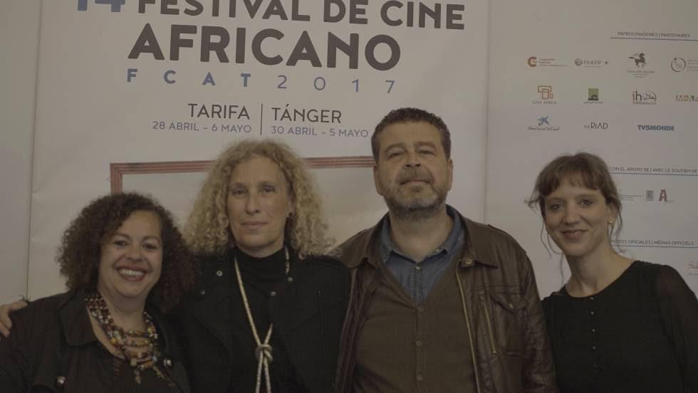 Jihan El Tahri, Mane Cisneros, Ikbal Zalila, Marion Berger.