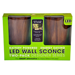 LED Wall Sconce Battery-Powered - Cherry | SamsClub.com Auctions