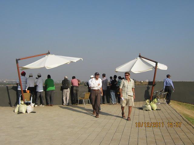 Visitors at the viewing gallery at Kolte-Patil Life Republic, Marunji - Hinjewadi, Pune 411 057