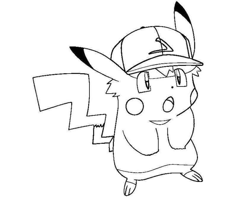 81 Dibujos De Pikachu Para Colorear Oh Kids Page 9