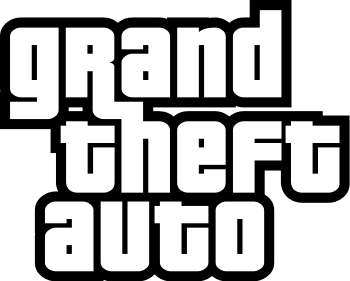 English: Logo used for Rockstar Games's Grand ...