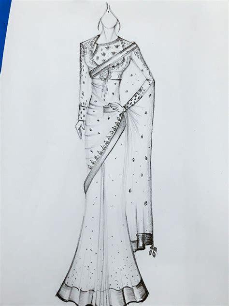 Saree for wedding   Design in 2019   Fashion design