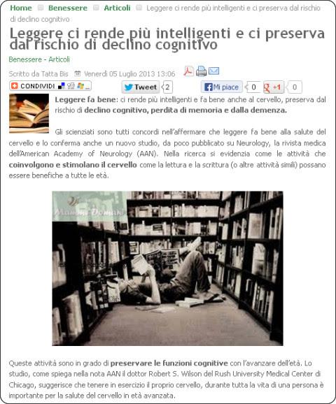 http://www.mammedomani.it/benessere/articoli/4860-leggere-ci-rende-piu-intelligenti-e-ci-preserva-dal-rischio-di-declino-cognitivo.html