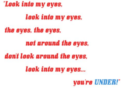 Look Into My Eyes Quotes Little Britain