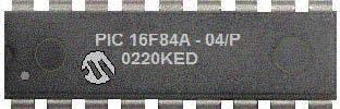pic-16f84-18-pin phát triển và flash EEPROM-8-bit-vi điều khiển