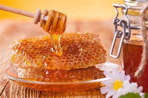Fonds d'ecran Miel Matricaire Alvéole d'abeille Assiette
