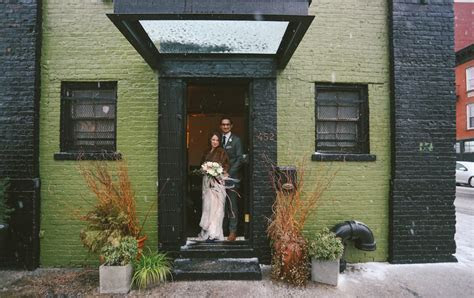 Reclaimed Wedding at The Green Building: Alison & Michael
