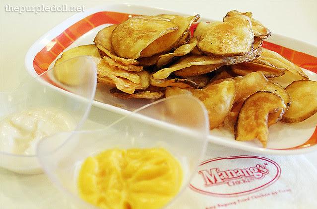 Manang's Chips and Dip Regular P39 Large P58