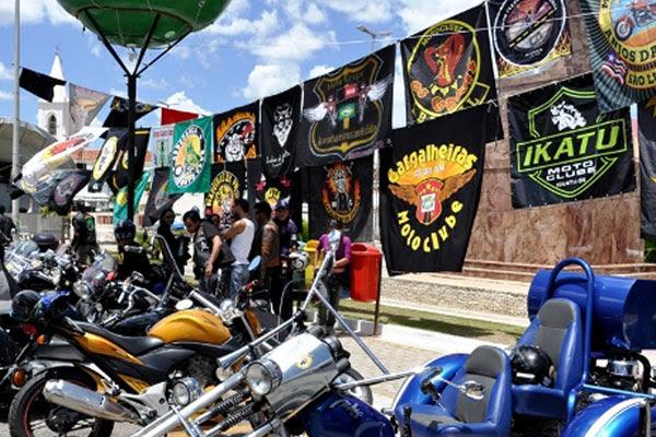 Integrantes de moto clubes mudarão a rotina da cidade do Seridó
