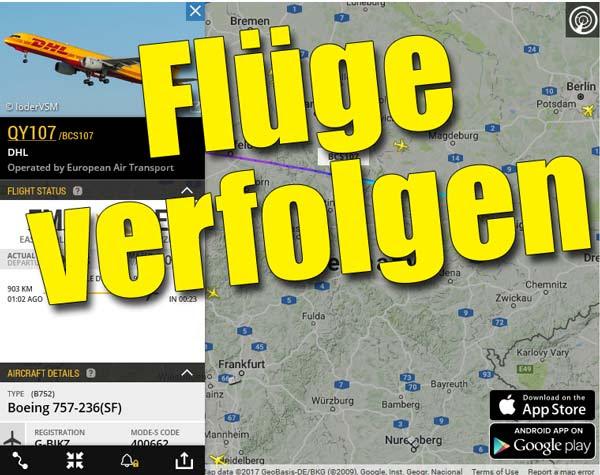 Flugradar Frankfurt Live