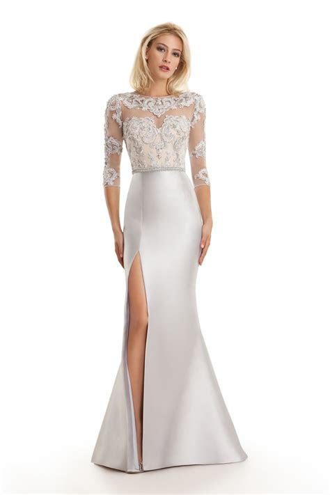 cheap hot sale mother   bride dresses long