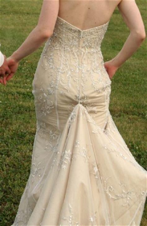 14 best images about wedding dress bustle on Pinterest