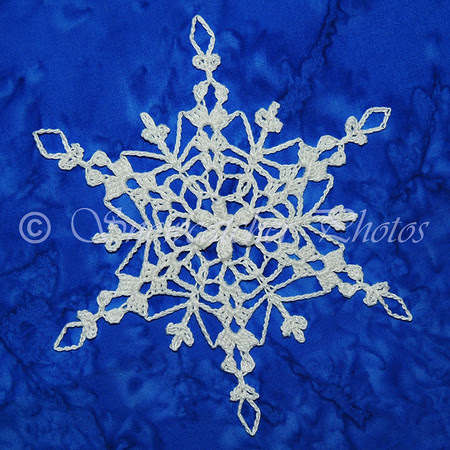 Golden Egg Snowflake