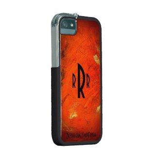 Monogram Glazed Terracotta Iphone 5 Case