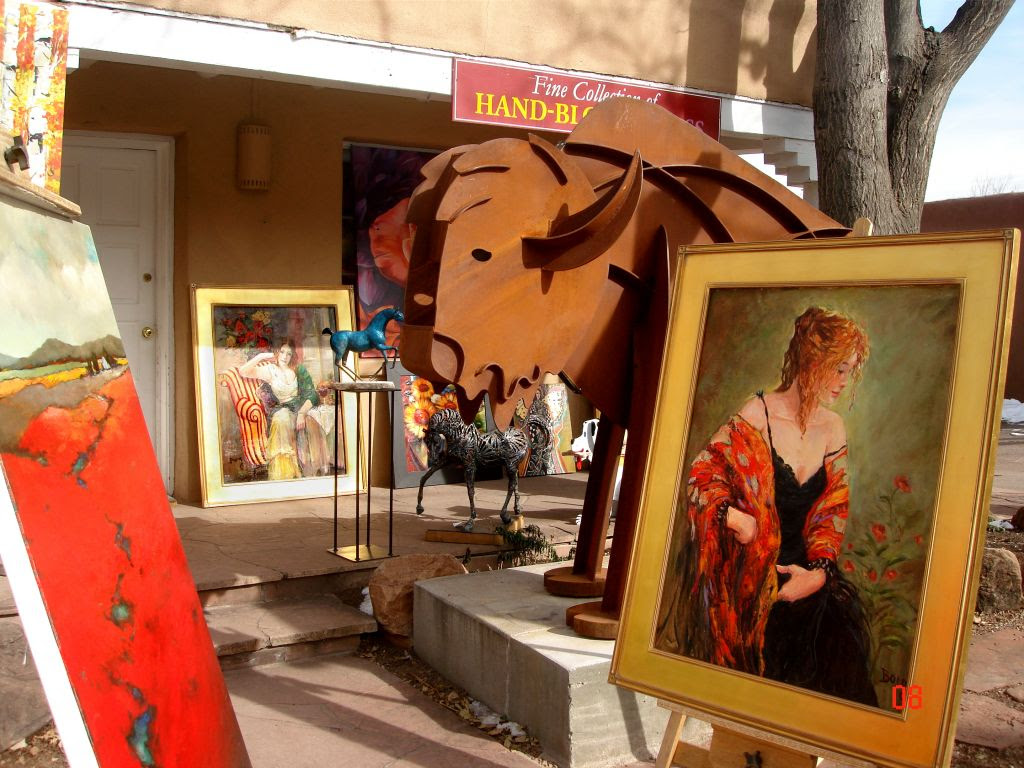 Canyon Road Cultural Walk Santa Fe Santa Fe New Mexico