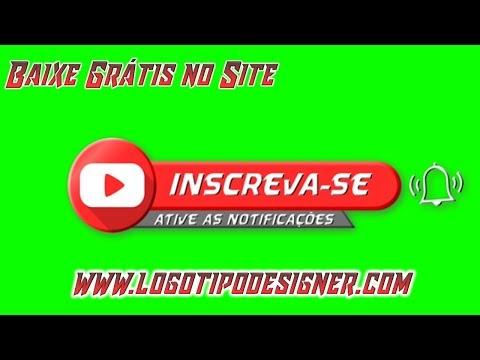Inscreva se #09 Chroma Key Green Screen Grátis Free Use