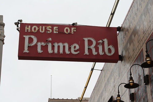 House of Prime Rib, San Francisco, CA