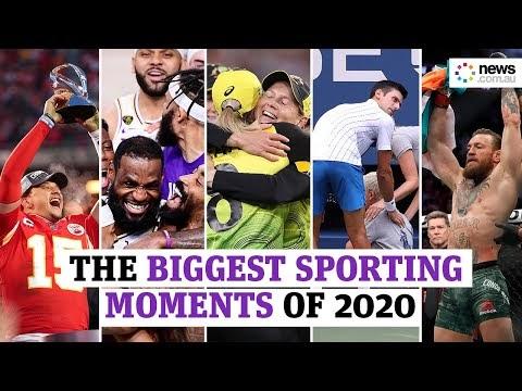 Ο αθλητισμός αποχαιρετά το 2020: Οι μεγάλες στιγμές μιας παράξενης χρονιάς σε εικόνες