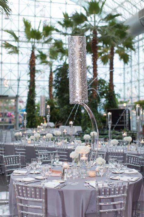 Chicago Wedding at Crystal Gardens on Navy Pier   Gray