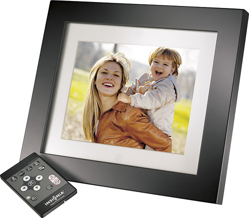 "Insignia™ - 8"" LCD Digital Photo Frame, Digital Photo Frames,"