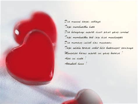 kumpulan puisi cinta romantis  puisi cinta