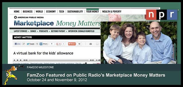 FamZoo Featured on Public Radio
