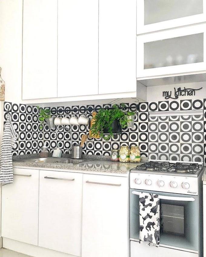 Desain Keramik Dapur Bermotif   Ide Rumah Minimalis
