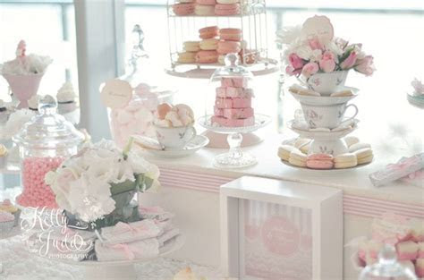 Pretty Pink Vintage Wedding Dessert Table   Sugar Coated Mama