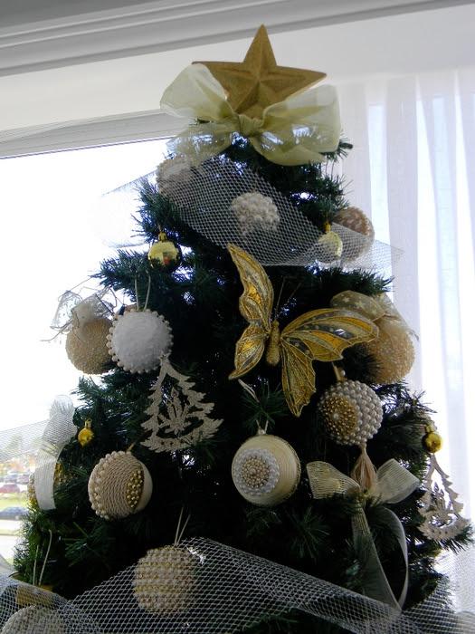 Bolas de Navidad preciosos y abeto de perlas y cuentas (34) (525x700, 289Kb)