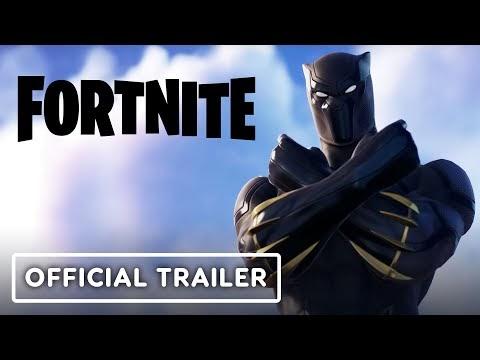 Fortnite - Official Black Panther, Captain Marvel & Taskmaster Trailer