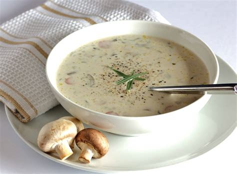 cream  wild mushroom soup recipe dishmaps