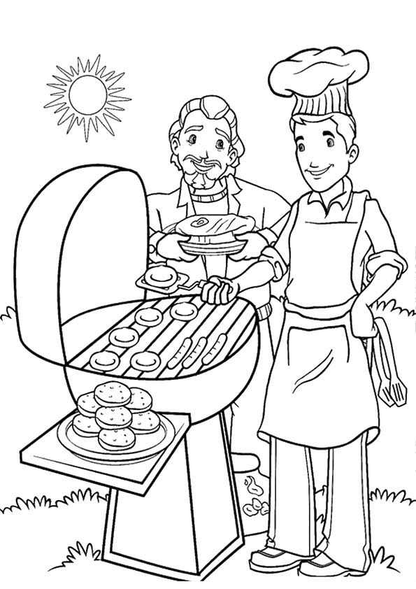 Download Free Printable Summer Coloring Pages for Kids!