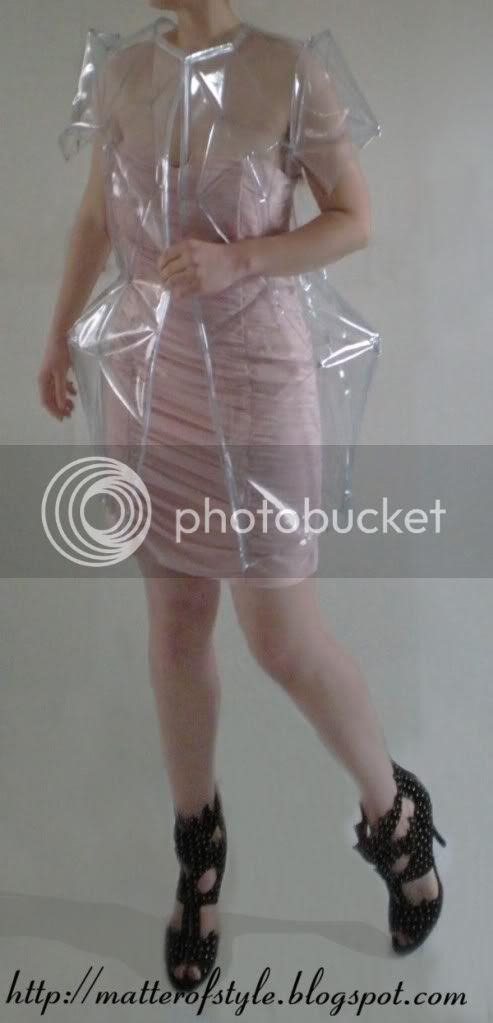 cape coat diy, crystal clear,rain coat, fashion diy,