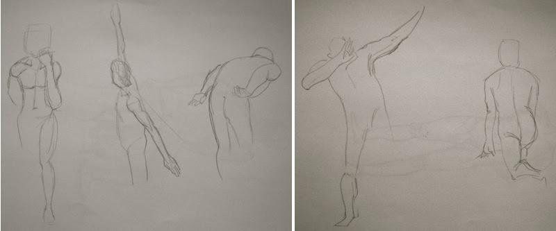 MJ SKETCHBOOK | Sandy Hill Life Drawing Workshop