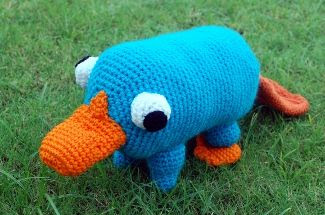 My grandson is a perry fan and will be thrilled to see this - I'm very impressed the pattern designer offers this pattern for free! http://www.innerchildcrochet.com/patterns/pet_platypus.php